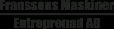 Franssons Maskiner Entreprenad